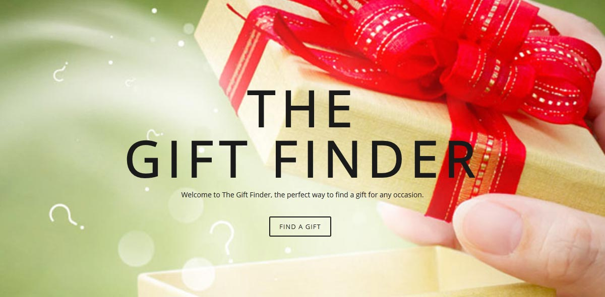 The Gift Finder - home