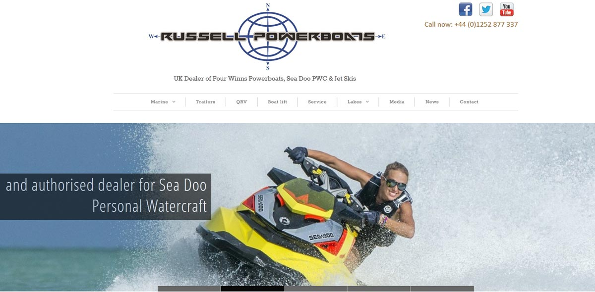 Russell Powerboats - home